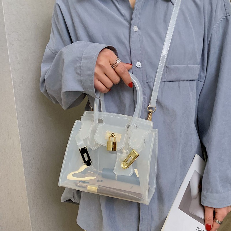 Túi xách mini trong suốt có dây đeo chéo thời trang cho nữ - 14750273 , 2138667451 , 322_2138667451 , 442000 , Tui-xach-mini-trong-suot-co-day-deo-cheo-thoi-trang-cho-nu-322_2138667451 , shopee.vn , Túi xách mini trong suốt có dây đeo chéo thời trang cho nữ