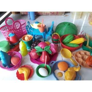 Set 1kg đồ chơi nấu ăn cho bé