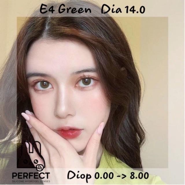 Link 2 (Giá 1 Chiếc) 14.0 (0.00->8.00) Lens E4 Green – Kính Áp Tròng