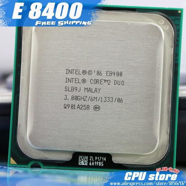 CPU E8400. 3.0Ghz. 6M. 1333. socket 775