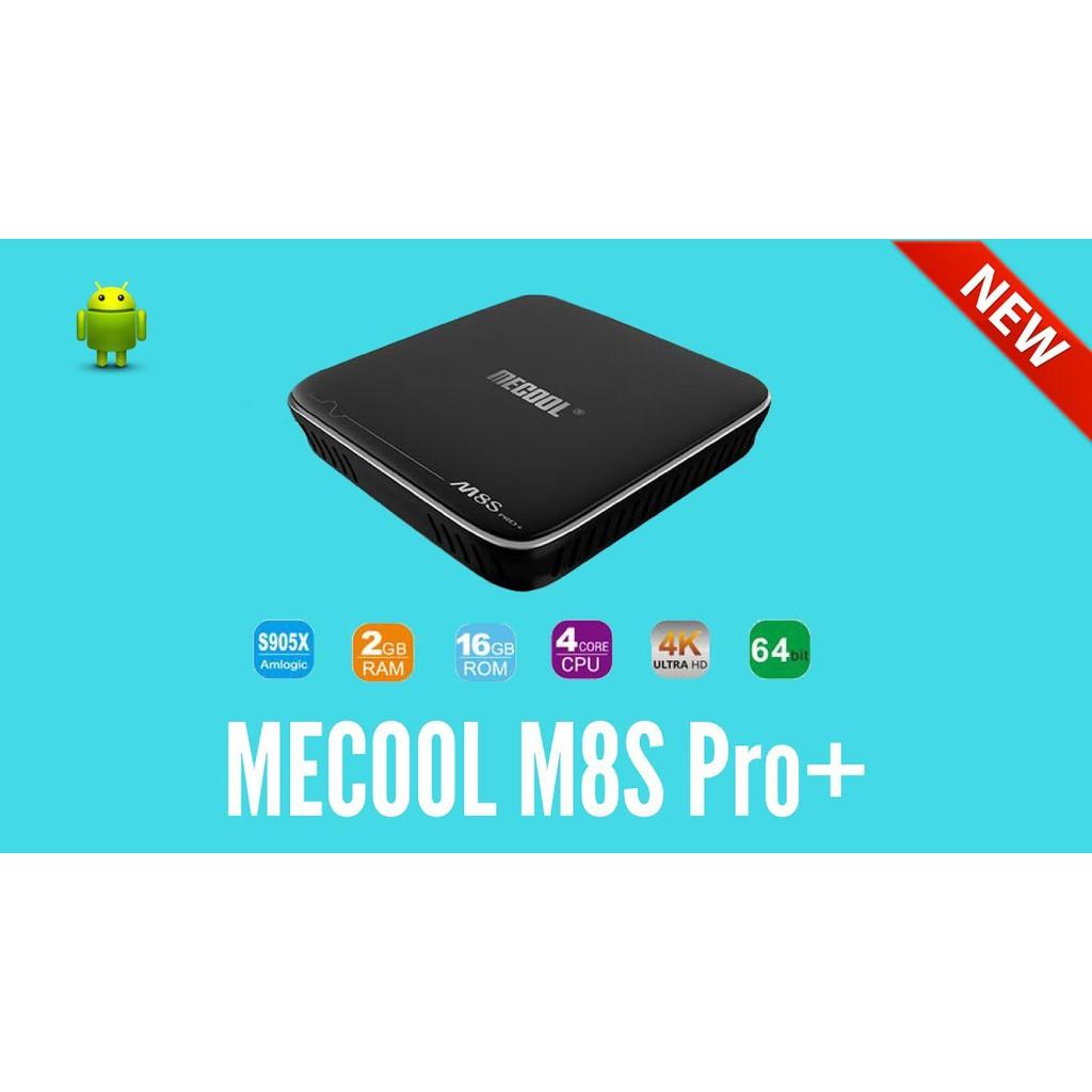 MECOOL M8S Pro+ | Remote có học lệnh | có phím số | có DRM L1 | chíp S905X | ram 2gb | rom 16gb như - 3139144 , 1002448572 , 322_1002448572 , 1200000 , MECOOL-M8S-Pro-Remote-co-hoc-lenh-co-phim-so-co-DRM-L1-chip-S905X-ram-2gb-rom-16gb-nhu-322_1002448572 , shopee.vn , MECOOL M8S Pro+ | Remote có học lệnh | có phím số | có DRM L1 | chíp S905X | ram 2gb