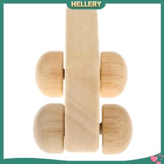 [HELLERY] Wooden Toys Blocks Car Montessori Toys Children Teething Baby Birthday Gift