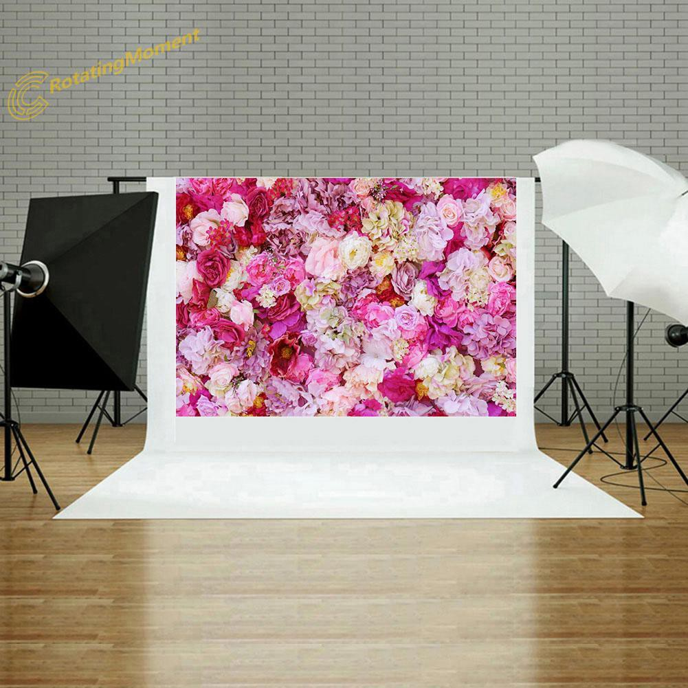 ❇o❇New Flowers Printed Digital Background Cloth Studio Backdrop Photography Prop