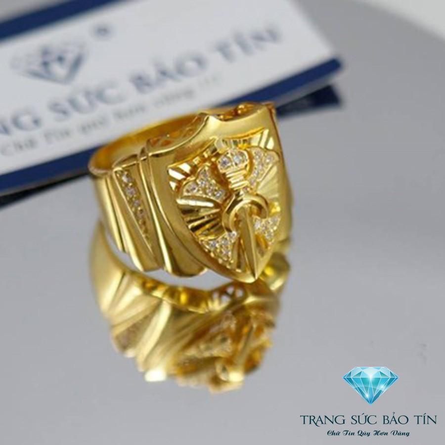 Nhẫn Nam Khiên Kiếm Mạ Vàng Bạc Mạ Vàng - Bảo Tín - 10075742 , 520689170 , 322_520689170 , 650000 , Nhan-Nam-Khien-Kiem-Ma-Vang-Bac-Ma-Vang-Bao-Tin-322_520689170 , shopee.vn , Nhẫn Nam Khiên Kiếm Mạ Vàng Bạc Mạ Vàng - Bảo Tín