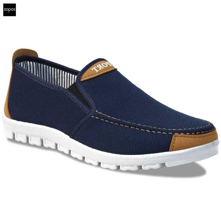 Giày sneaker thể thao nam Zapas GS045 (Xanh)