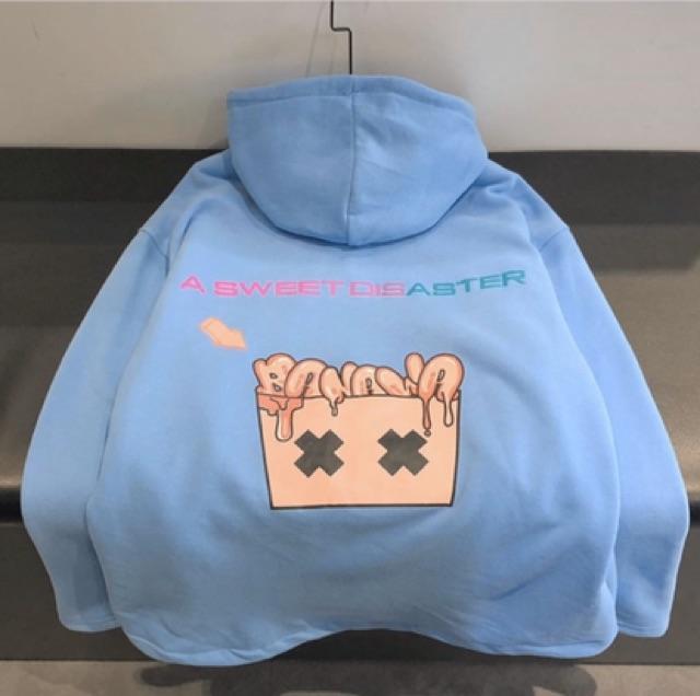 Áo Hoodie Dây Kéo Banawa Unisex ( ảnh thật kèm video )