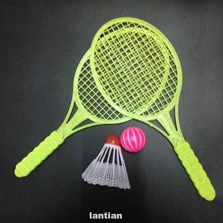 4pcs Doing Exercise Tennis Racket Outdoor Toy Badminton Kit