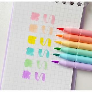 Hình ảnh Set 6 bút đánh dấu Winzige màu sắc ngọt ngào-2