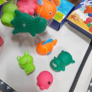 Bộ sinh vật biển cho bé 🌊🐋🦑🐟