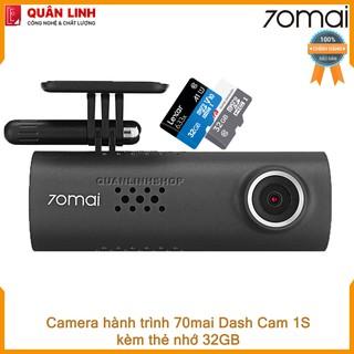 Camera hành trình 70mai Smart Dash Cam 1S kèm thẻ 32GB