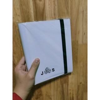 Album sưu tập thẻ bài JS có dây gài cao cấp sức chứa 160 lá bài