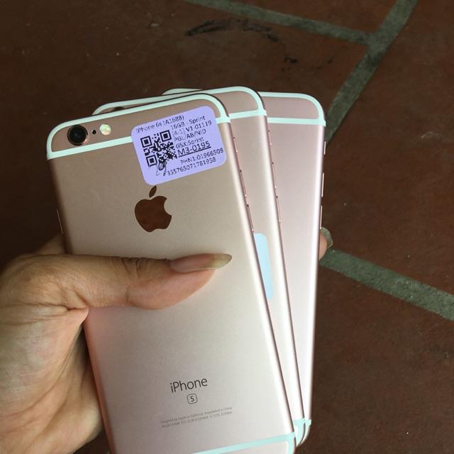 [NHẬP ELMIJUNE HOÀN 40K XU CHO ĐƠN TỪ 300K] Điện thoại iPhone 6s lock nhật màu hồng nữ tính chính hãng Apple mới 90-99
