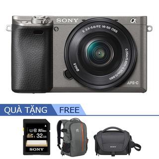 Máy Ảnh Alpha Sony ILCE-A6000L | CMOS HD - OLED Tru-Finder - LENS SEL1650 | Bảo Hành Chính Hãng 12 Tháng Toàn Quốc