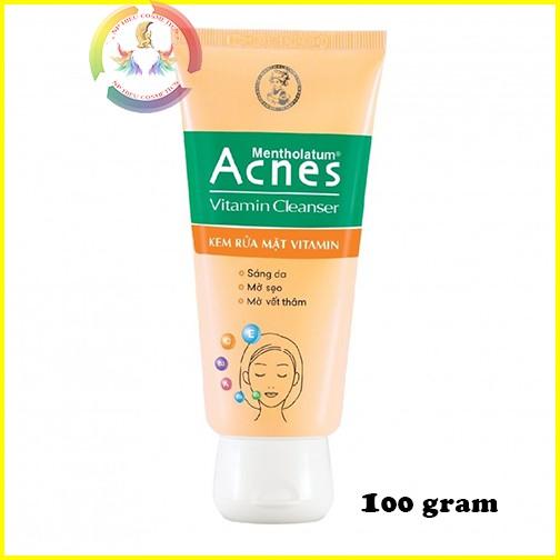 Sữa rửa mặt Acnes Vitamin Cleanser 100gram - 2991411 , 436206133 , 322_436206133 , 40000 , Sua-rua-mat-Acnes-Vitamin-Cleanser-100gram-322_436206133 , shopee.vn , Sữa rửa mặt Acnes Vitamin Cleanser 100gram