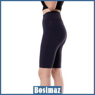 Quần Legging Nữ Bosimaz MS323 ngắn túi trước màu xanh navy cao cấp, thun co giãn 4 chiều, vải đẹp dày, thoáng mát. thumbnail