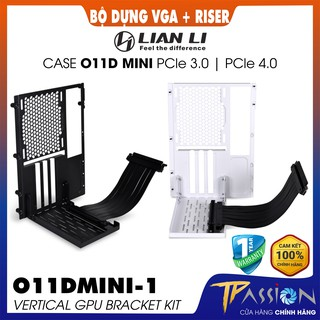 Bộ kit giá dựng VGA Lian Li O11DMINI-1 Vertical GPU Bracket KIT PCIE 3.0 4.0 Black White - Chính hãng, case O11 MINI thumbnail