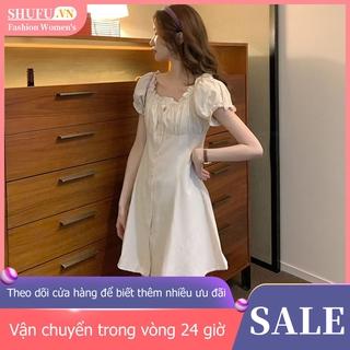 Đầm Nữ Tay Ngắn Hở Vai Thời Trang Hàn Quốc 5165