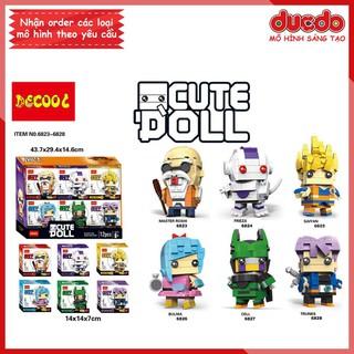 DECOOL 6823-6828 Brick Headz Dragon Ball độc quyền - Đồ chơi Lắp ghép Xếp hình Mô hình Mini Minifigures BrickHeadz thumbnail