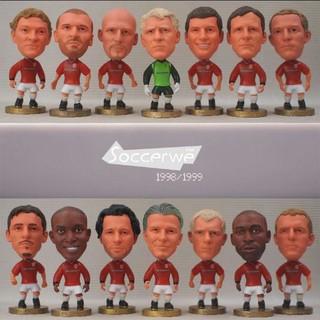 Tượng cầu thủ bóng đá đội hình Manchester United 1998-1999