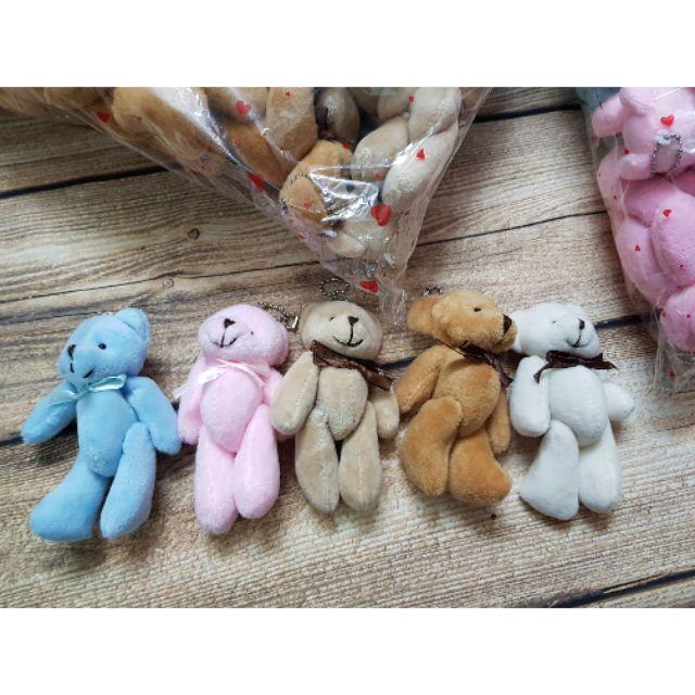 Móc khóa gấu teddy