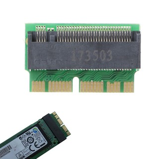 Card mạng M Key M.2 PCI-E sang 12 + 16Pin ahci SSD cho 2013 2014 2015 Mac Air Pro thumbnail