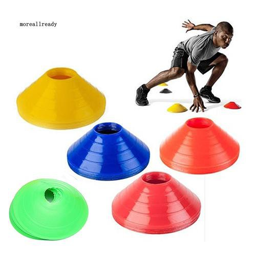 was 10Pcs Football Cross Training Track Disc Cones Sports Safety Equipment Sign