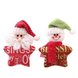 Santa Claus Snowman Hanging Pendant Christmas Tree Decor