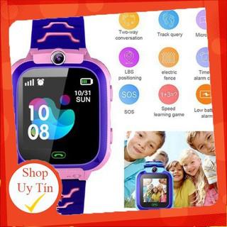 Đồng hồ thông minh định vị Q12 sạc nam châm, chống nước, gắn sim nghe gọi như điện thoại. I.CASE [vthm9] Liên hệ mua hà