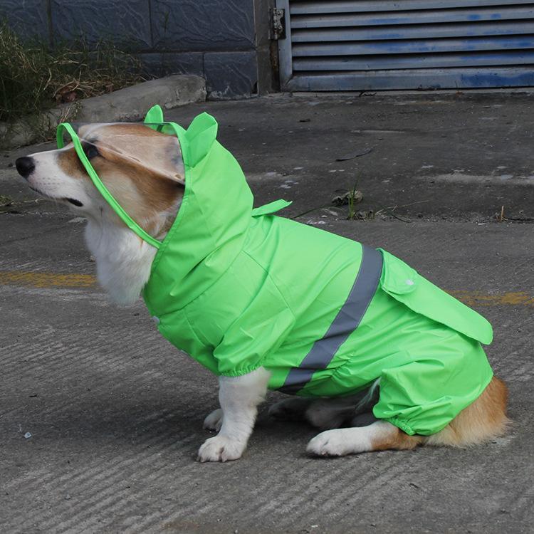 Áo mưa mỏng cho thú cưng
