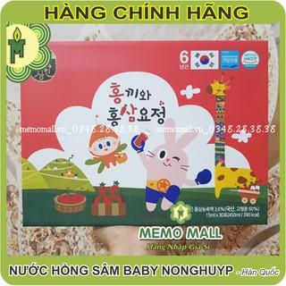 NƯỚC HỒNG SÂM BABY NONGHUYP với hình thỏ con dễ thương thumbnail