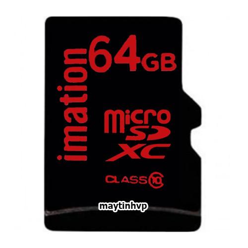 Thẻ nhớ Usa Imation 64gb class 10 Siêu bền dành cho camera