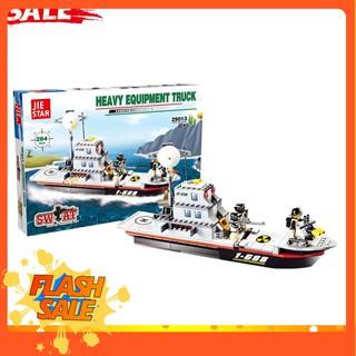 [ RẺ VÔ ĐỐI ] ĐỒ CHƠI TRẺ EM – Xếp hình Lego Thuyền Chiến – Đồ Chơi Lắp Ráp