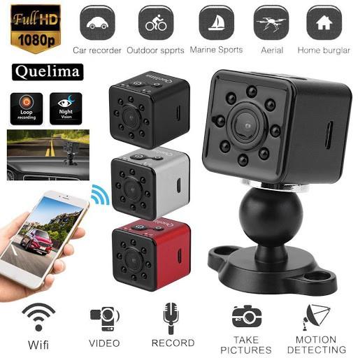 SQ13, Camera SQ13 Ghi Hình Full HD 1080P Tích Hợp Wifi Chuyên Dụng- Camera Mini Nhỏ Gọn