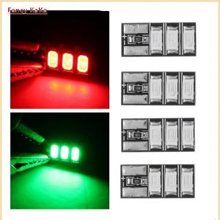 4 PCS 4-6S Mini LED Light Board Red Green for RC Drone FPV Racing Frame Kit – Green