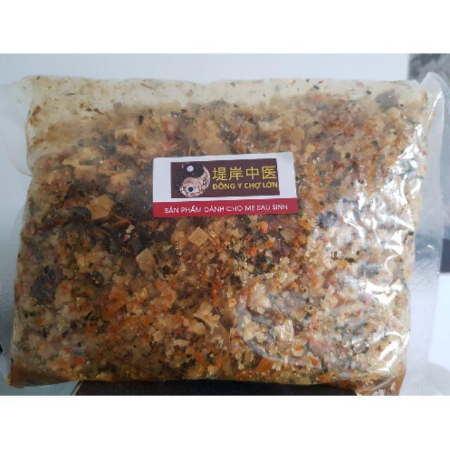 Túi muối Thảo dược 1 kg [Đông Y Chợ Lớn] thon gọn Vùng eo và Vòng đùi cho Phụ nữ và Sản phụ Sau sinh