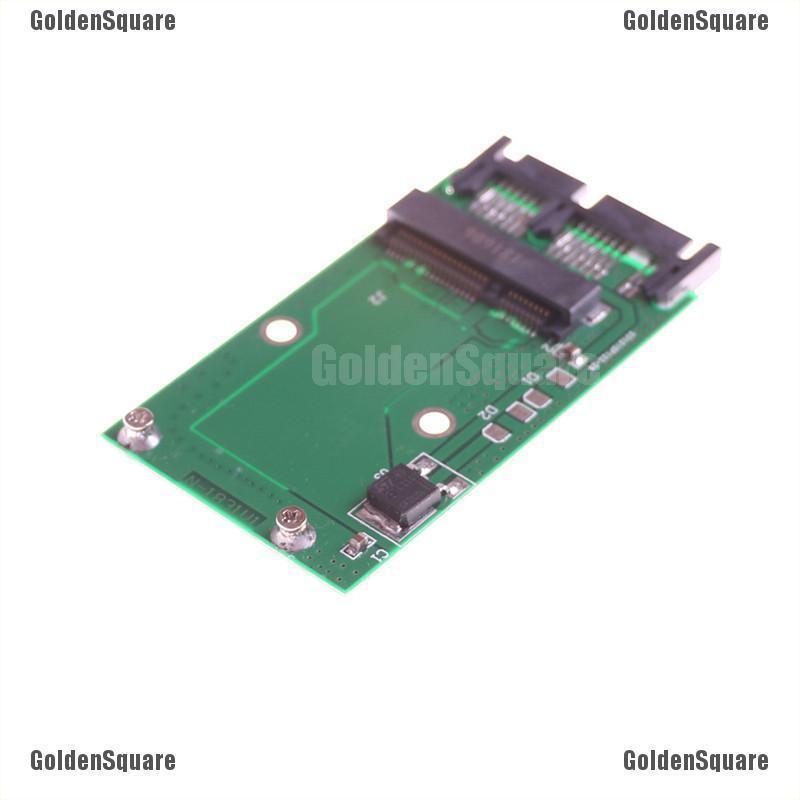 1pc Mini SATA mSATA PCI-E IPOD SSD to 40pin 1.8 Inch ZIF CE Converter Card
