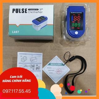 Máy đo nồng độ oxy trong máu spo2 và đo nhịp tim hỗ trợ bệnh nhân F0, F1, F2 tại nhà thumbnail