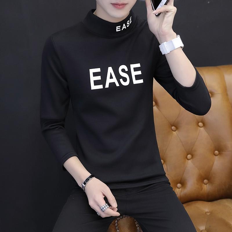 (Oder) ảnh thật, size L-XXXL - áo thun nhung dài tay dày nam phiên bản Hàn Quốc - XT0177