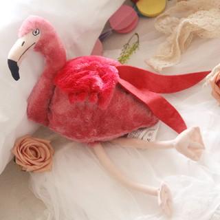 thú nhồi bông hình chim hồng hạc