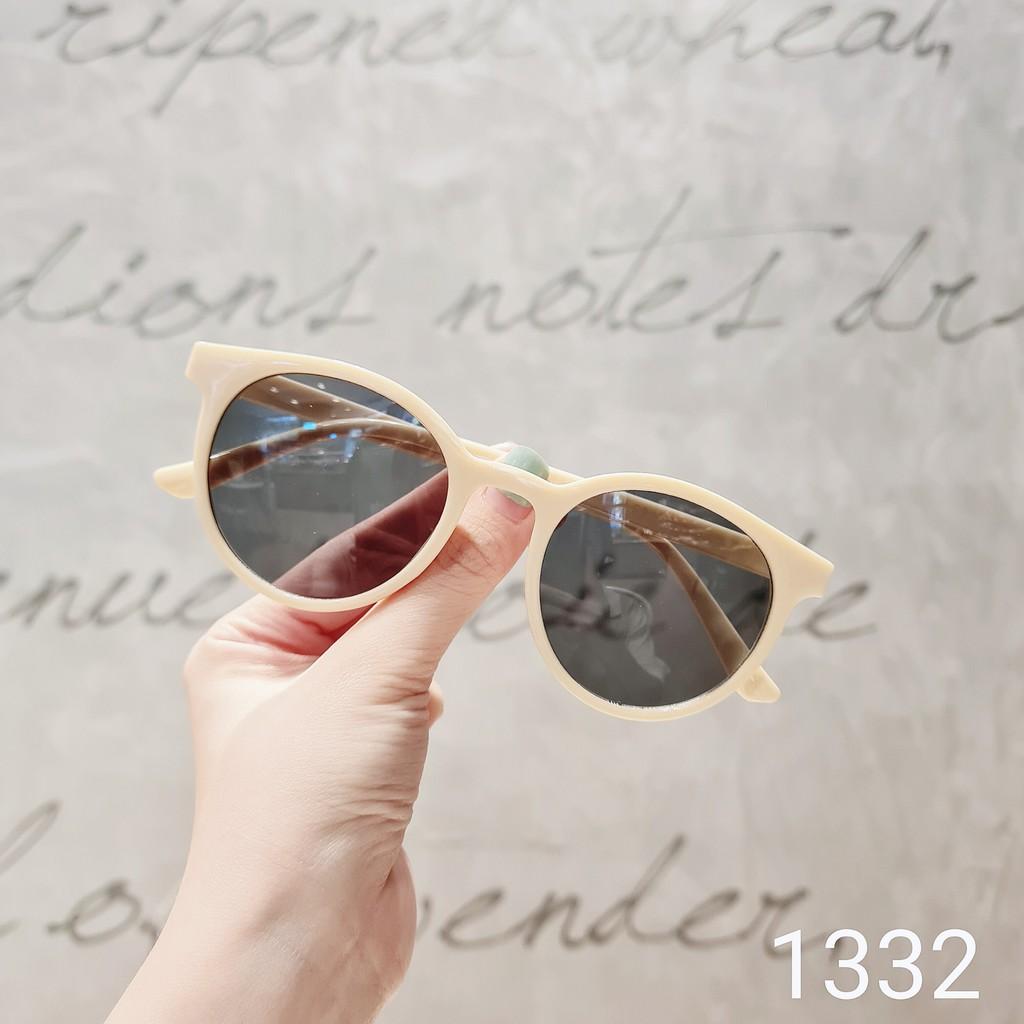 Gọng kính cận thời trang [Cắt kính mắt cận-loạn] Kính mát 1332