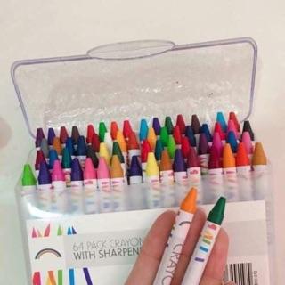 Hộp bút sáp 64 màu