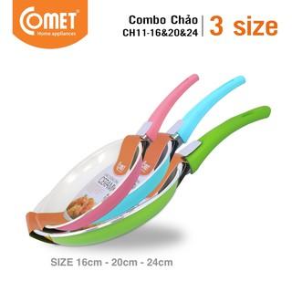 Combo 03 chảo Ceramic chống dính COMET - CH11-16&20&24 thumbnail