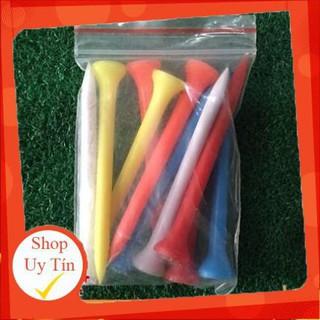 20 Tee golf gỗ, nhựa - Phụ Kiện Golf thumbnail