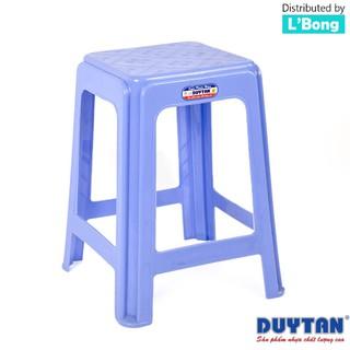 Ghế nhựa cao vuông Duy Tân (35 x 35 x 46 cm)