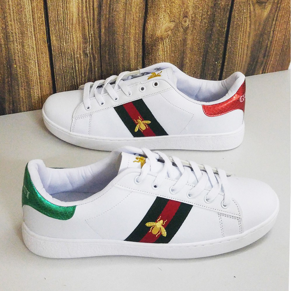 3f5fea8c6ee7 Giày Adidas Stan Smith Trắng Hồng Nam Nữ