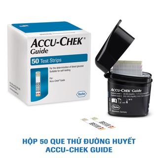 Que thử đường huyết Accu-Chek Guide. Hộp 50 que