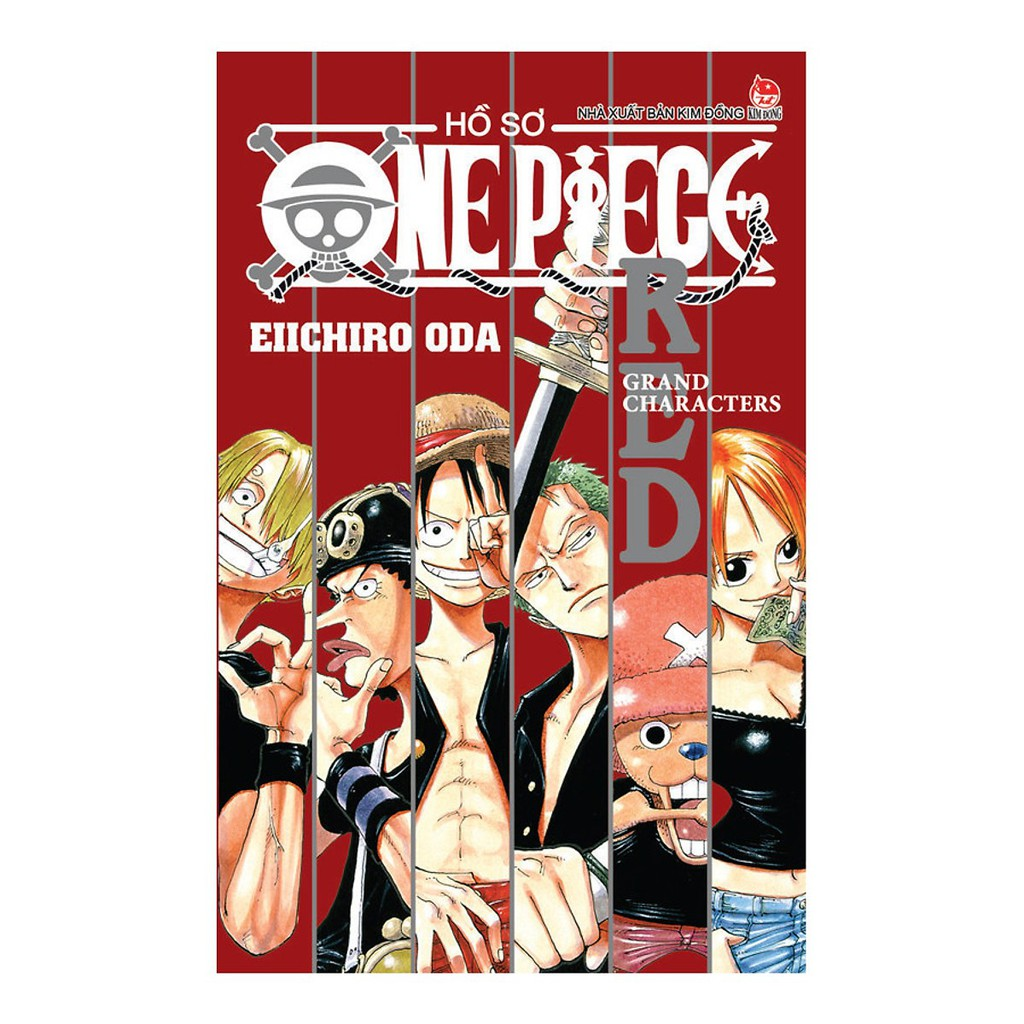 Sách - Hồ Sơ One Piece Red - Grand Characters