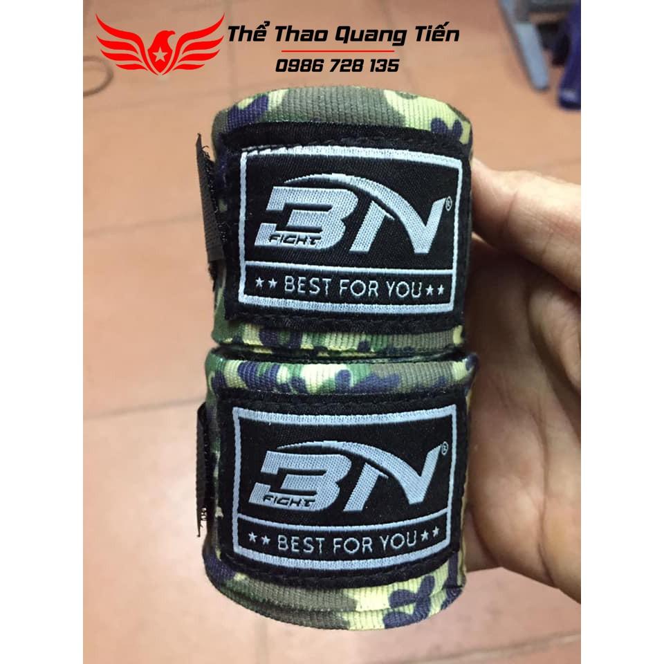 Freeship Bộ 2 chiếc băng đa cuốn tay võ thuật boxing Bn 5m chính hãng tặng kèm túi đựng