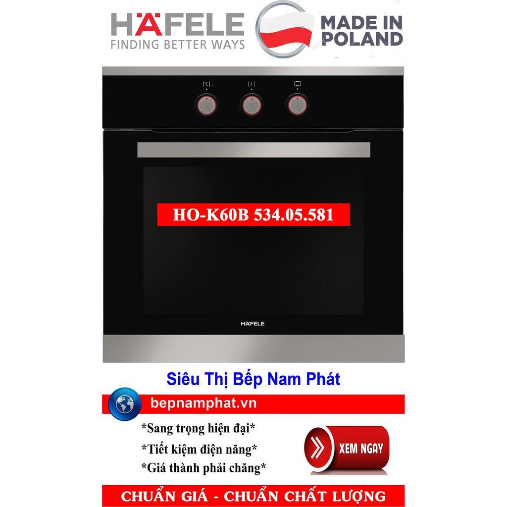 Lò nướng âm tủ cao cấp Hafele HO-K60B 534.05.581 nhập khẩu Ba Lan