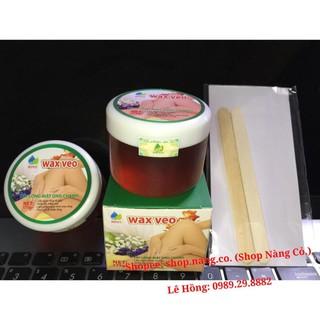 [Chính Hãng] WAX LÔNG VEO Tẩy sạch MỌI VÙNG Lông, TẶNG kèm giấy wax và que gạt (Wax kem tẩy lông, Triệt lông Vĩnh viễn)
